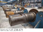 Rolling forming roll metal works. Стоковое фото, фотограф Дмитрий Рухмалев / Фотобанк Лори