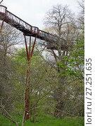 Treetop walkway, Kew Gardens, London, England, UK, April 2016. Стоковое фото, фотограф Michael Hutchinson / Nature Picture Library / Фотобанк Лори