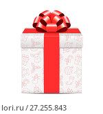Christmas gift box. Стоковая иллюстрация, иллюстратор Дмитрий Варава / Фотобанк Лори
