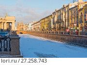 Купить «Канал Грибоедова. Санкт-Петербург», эксклюзивное фото № 27258743, снято 4 января 2017 г. (c) Александр Щепин / Фотобанк Лори