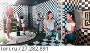 Купить «People trying to find solution», фото № 27282891, снято 6 июля 2017 г. (c) Яков Филимонов / Фотобанк Лори