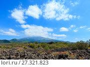 Etna volcano view, Sicily, Italy (2017 год). Стоковое фото, фотограф Юрий Брыкайло / Фотобанк Лори