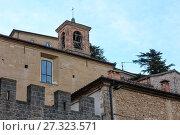 Купить «San Marino town view», фото № 27323571, снято 4 июня 2017 г. (c) Юрий Брыкайло / Фотобанк Лори