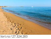 Isola delle Correnti Capo Passero beach (2017 год). Стоковое фото, фотограф Юрий Брыкайло / Фотобанк Лори