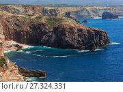 Купить «Summer Atlantic coast (Algarve, Portugal).», фото № 27324331, снято 21 мая 2016 г. (c) Юрий Брыкайло / Фотобанк Лори