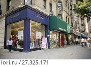 Купить «A women's clothing store in the Upper West Side neighborhood of New York advertises its closing sale on Saturday, September 16, 2017.», фото № 27325171, снято 16 сентября 2017 г. (c) age Fotostock / Фотобанк Лори