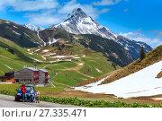 Alpine view (Vorarlberg,Austria) (2012 год). Стоковое фото, фотограф Юрий Брыкайло / Фотобанк Лори