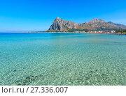 Купить «San Vito lo Capo beach, Sicily, Italy», фото № 27336007, снято 16 июня 2017 г. (c) Юрий Брыкайло / Фотобанк Лори