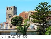Купить «Erice town, Sicily, Italy», фото № 27341435, снято 16 июня 2017 г. (c) Юрий Брыкайло / Фотобанк Лори