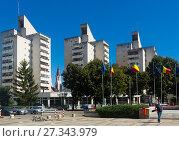 Купить «Administrative Palace in Satu Mare», фото № 27343979, снято 14 сентября 2017 г. (c) Яков Филимонов / Фотобанк Лори