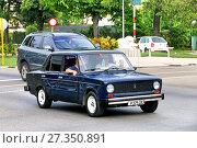 """Тюнингованный ВАЗ 21011 """"Жигули"""" (Lada 1300) (2017 год). Редакционное фото, фотограф Art Konovalov / Фотобанк Лори"""