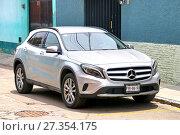 Купить «Mercedes-Benz X156 GLA-class», фото № 27354175, снято 25 мая 2017 г. (c) Art Konovalov / Фотобанк Лори