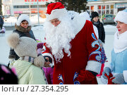 Купить «Стишок для деда Мороза», фото № 27354295, снято 5 января 2018 г. (c) Иван Карпов / Фотобанк Лори
