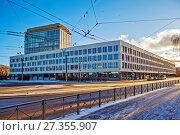 Купить «Центр Artplay. Санкт-Петербург», фото № 27355907, снято 7 января 2018 г. (c) Сергей Афанасьев / Фотобанк Лори