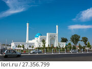 Minor White Mosque in Tashkent, Uzbekistan (2016 год). Редакционное фото, фотограф Валерий Смирнов / Фотобанк Лори