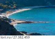 Купить «Tyrrhenian sea landscape, Calabria, Italy», фото № 27382459, снято 19 июня 2017 г. (c) Юрий Брыкайло / Фотобанк Лори