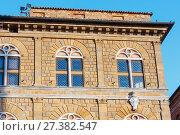 Купить «Pienza house, Tuscany, Italy», фото № 27382547, снято 23 июня 2017 г. (c) Юрий Брыкайло / Фотобанк Лори