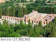 Купить «Montepulciano cemetery, Tuscany, Italy», фото № 27382563, снято 23 июня 2017 г. (c) Юрий Брыкайло / Фотобанк Лори