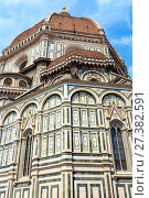 Купить «Florence Cathedral, Tuscany, Italy», фото № 27382591, снято 23 июня 2017 г. (c) Юрий Брыкайло / Фотобанк Лори