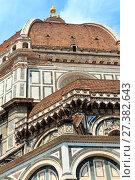 Купить «Florence Cathedral, Tuscany, Italy», фото № 27382643, снято 23 июня 2017 г. (c) Юрий Брыкайло / Фотобанк Лори
