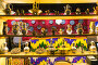 Купить «Interior of the restaurant in oriental style», фото № 27385855, снято 10 октября 2016 г. (c) Евгений Ткачёв / Фотобанк Лори