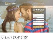 Купить «Subscription form on dating site », фото № 27413151, снято 17 декабря 2018 г. (c) Wavebreak Media / Фотобанк Лори