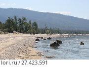 Купить «The great lake Baikal, Russia», фото № 27423591, снято 18 июня 2019 г. (c) Ольга Сизова / Фотобанк Лори