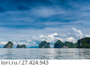 Купить «postcard views of the islands of Krabi resort in Thailand, in good weather», фото № 27424943, снято 10 ноября 2016 г. (c) Константин Лабунский / Фотобанк Лори