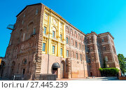 Купить «Italy, Piedmont, Rivoli, The imposing baroque architecturesof the Royal catle of Rivoli», фото № 27445239, снято 14 августа 2016 г. (c) age Fotostock / Фотобанк Лори