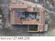 Farmhouse. Los Pozuelos. Almansa. Albacete province. Spain. Стоковое фото, фотограф Antonio Real / age Fotostock / Фотобанк Лори