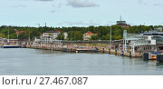 Мариехамн, Аландские острова. Terminal of Viking Line (2017 год). Редакционное фото, фотограф Валерия Попова / Фотобанк Лори