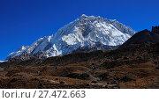 Купить «Mount Nuptse seen from Lobuche», фото № 27472663, снято 4 июля 2020 г. (c) age Fotostock / Фотобанк Лори
