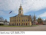 Купить «Старинная ратуша города Хамина. Финляндия», фото № 27505771, снято 12 мая 2013 г. (c) Сапрыгин Сергей / Фотобанк Лори