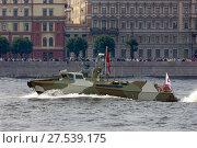 Navy day and parade on Neva river (2017 год). Редакционное фото, фотограф Светлана Чуркина / Фотобанк Лори