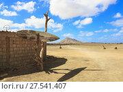 Купить «Bar Mirage on Terra Boa desert near to Monte Grande, Sal Island, Salinas, Cape Verde, Africa.», фото № 27541407, снято 17 октября 2018 г. (c) age Fotostock / Фотобанк Лори