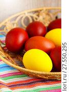 Easter eggs. Стоковое фото, фотограф ElenArt / Фотобанк Лори