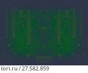 Купить «cosmic dark blue and green circuit board background», фото № 27582859, снято 12 декабря 2018 г. (c) PantherMedia / Фотобанк Лори