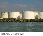 Купить «Storage Tanks», фото № 27589627, снято 22 мая 2018 г. (c) PantherMedia / Фотобанк Лори