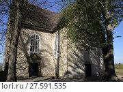Купить «church on castle varenholz», фото № 27591535, снято 25 марта 2019 г. (c) PantherMedia / Фотобанк Лори