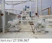 Купить «The pump for pumping hot products of oil refining», фото № 27596967, снято 19 февраля 2019 г. (c) PantherMedia / Фотобанк Лори