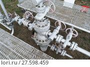 Купить «Equipment of an oil well», фото № 27598459, снято 17 июня 2019 г. (c) PantherMedia / Фотобанк Лори
