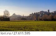 Купить «Viviers medieval city in France on the banks of the Rhone», фото № 27611595, снято 18 июля 2019 г. (c) PantherMedia / Фотобанк Лори