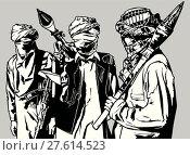 Купить «Terrorist Group», иллюстрация № 27614523 (c) PantherMedia / Фотобанк Лори