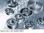 Купить «titanium engineering parts», фото № 27620907, снято 20 мая 2019 г. (c) PantherMedia / Фотобанк Лори