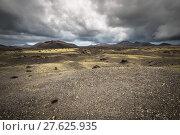 Купить «volcanic landscape at timanfaya national park,lanzarote island,canary islands,spain», фото № 27625935, снято 16 декабря 2018 г. (c) PantherMedia / Фотобанк Лори