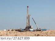 Petrochemical facilities in the desert. Стоковое фото, фотограф Philip Lange / PantherMedia / Фотобанк Лори