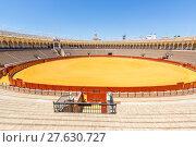 Купить «bullfight arena stadium», фото № 27630727, снято 27 мая 2018 г. (c) PantherMedia / Фотобанк Лори