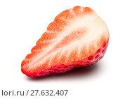 Купить «Beautiful Fresh Strawberry Isolated on White Background with Clipping Path.», фото № 27632407, снято 16 февраля 2019 г. (c) PantherMedia / Фотобанк Лори