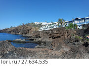 Купить «Felsküste in Puerto del Carmen, Lanzarote», фото № 27634535, снято 16 декабря 2018 г. (c) PantherMedia / Фотобанк Лори