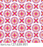 Купить «Floral seamless pattern, can be used as background.», иллюстрация № 27639951 (c) PantherMedia / Фотобанк Лори